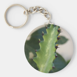 Kaktus-Blatt Schlüsselanhänger