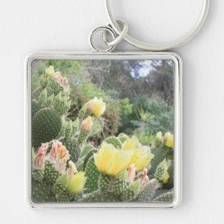 Kaktus-Blumen Keychain Schlüsselanhänger