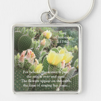 Kaktus-Blumen-Lied von Solomon Keychain Schlüsselanhänger