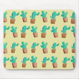 Kaktus-Druck Mousepad