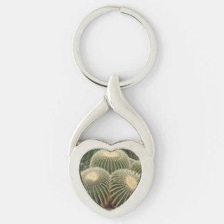 Kaktus-Herz Keychain Schlüsselanhänger
