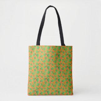 Kaktus ich Außenseiten-(orange) - Taschen-Tasche Tasche
