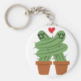 Kaktus-Liebe Schlüsselanhänger