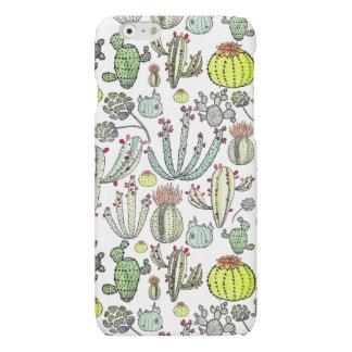 Kaktus-Muster Iphone 6/6s Matttelefon-Kasten