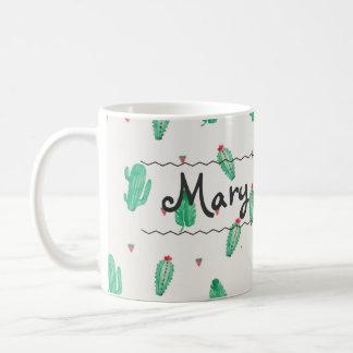 Kaktus-Name-Kaffee-Tasse Tasse