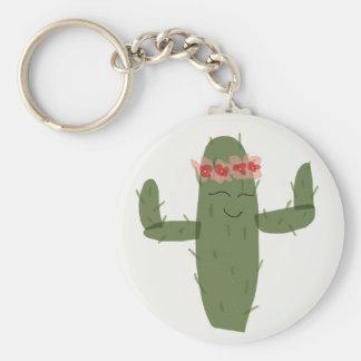 Kaktus princess schlüsselanhänger