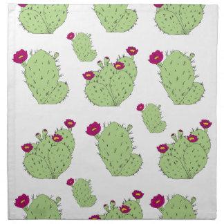 Kaktusfeige-Muster Serviette
