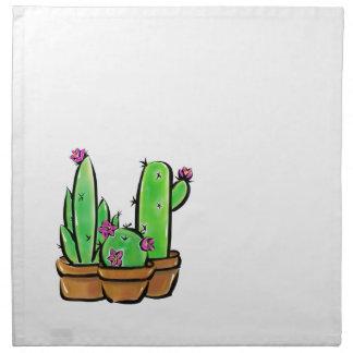 Kaktusfreude Stoffserviette