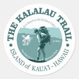 Kalalau Spur Runder Aufkleber