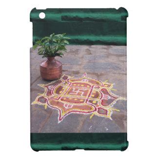 Kalas Vasen-Hakenkreuz rangoli indische Hochzeit Hüllen Für iPad Mini