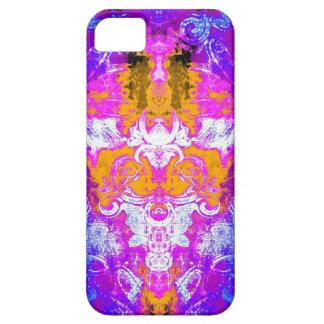 Kaleidoskop im rosa Telefonkasten iPhone 5 Case