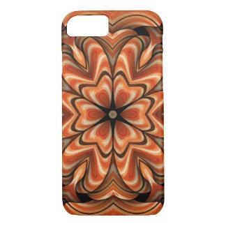Kaleidoskop iPhone 7 Fall im oranage iPhone 7 Hülle