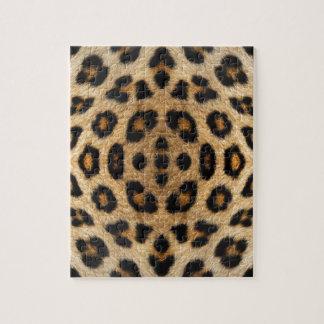 Kaleidoskop-Leopard-Pelz-Muster