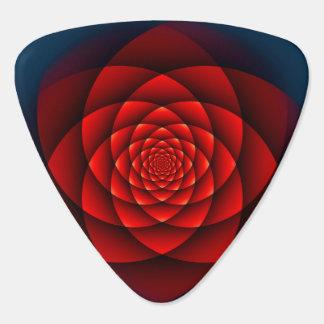 Kaleidoskop ROSEN-Rot Plektrum