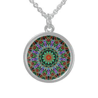 Kaleidoskop Sterling Silberkette