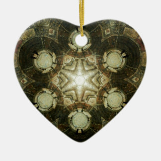 Kaleidoskop von Dowtown Kansas City Bibliothek Keramik Ornament