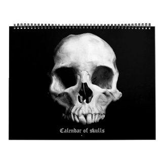 Kalender 2018 der Schädel