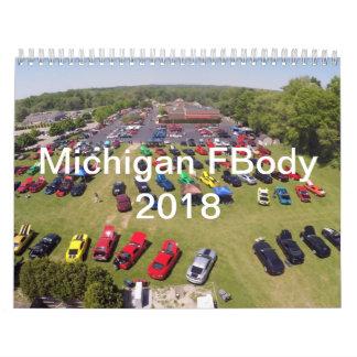 Kalender 2018 Michigans FBody