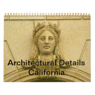 Kalender - Architekturdetails Kalifornien Wandkalender