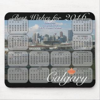 Kalender Calgary-Skyline-2016 Mauspad