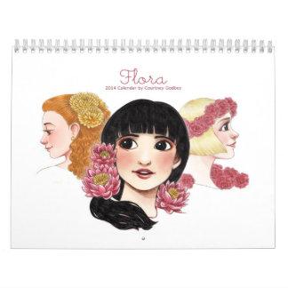 Kalender der Flora-2014