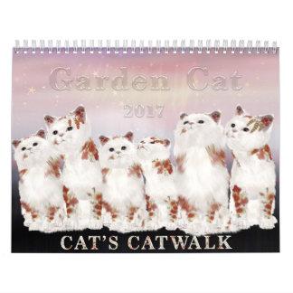 Kalender der Garten-Katzen-2017