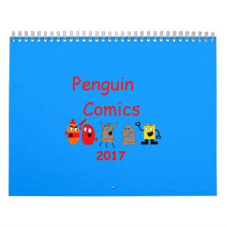 Kalender der Penguin-Comic-2017