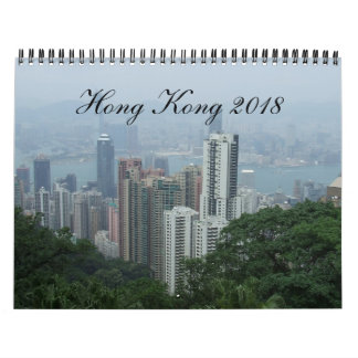 Kalender Hong Kongs 2018
