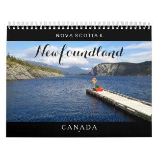 Kalender Neufundlands Neuschottland Kanada