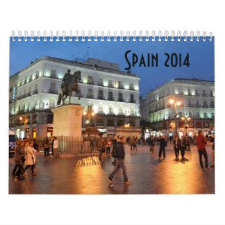 Kalender Spaniens 2014 durch CharoseDesign