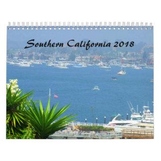 Kalender Südkaliforniens SOCAL 2018