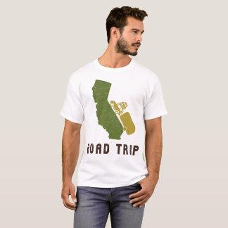 Kalifornien-Autoreise RV-Wohnwagenanhänger T-Shirt