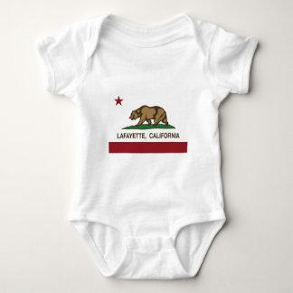 Kalifornien-Flagge Lafayette Baby Strampler
