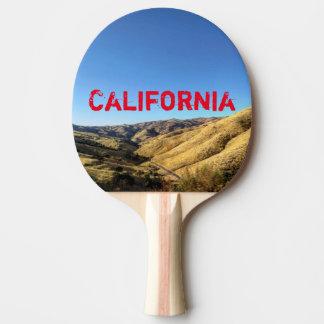 Kalifornien-Klingeln Pong Paddel Tischtennis Schläger