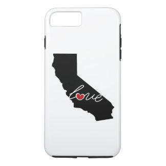 Kalifornien-Liebe! Geschenke für CA-Liebhaber iPhone 7 Plus Hülle