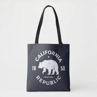 Kalifornien-Logo | der goldene Staat 2 Tasche