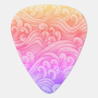 Kalifornien-Meerjungfrau-Flutwelle-Rosa Plektrum