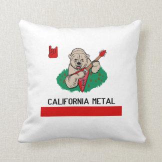 KALIFORNIEN-METALLkissen Kissen