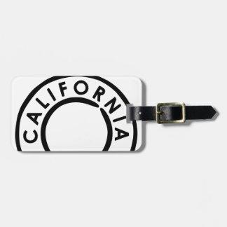 Kalifornien Poststempel Design Kofferanhänger