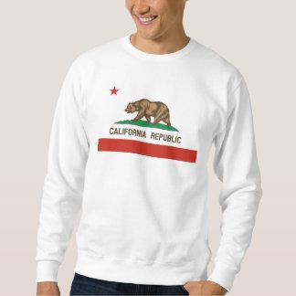 Kalifornien-Republik-Staats-Flagge Sweatshirt