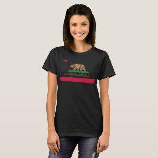 Kalifornien-Republik-Staatsflagge T-Shirt