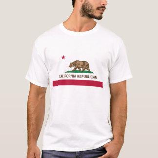 Kalifornien-Republikaner-Flagge T-Shirt