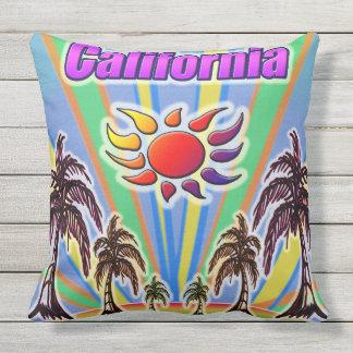 Kalifornien-Sommer-Liebe-Kissen Kissen Für Draußen