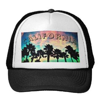 Kalifornien-Sonnenuntergang-Fernlastfahrer-Hut Mütze