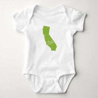 Kalifornien-Staats-Bodysuit, am Ort gewachsen Babybody