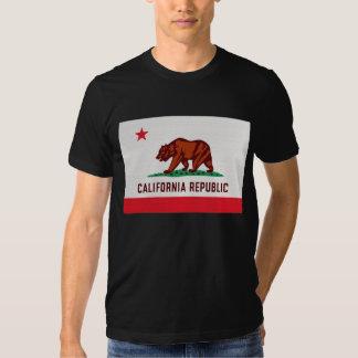 Kalifornien-Staats-Flagge T-shirt