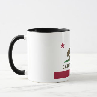 Kalifornien-Staats-Flagge Tasse