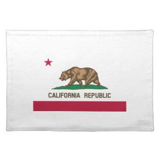 Kalifornien-Staats-Flagge Tischset