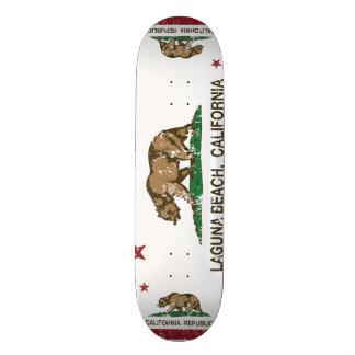 Kalifornien-Staats-Flaggen-Laguna-Strand 18,1 Cm Old School Skateboard Deck