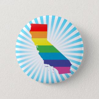 Kalifornien-Stolz Runder Button 5,1 Cm